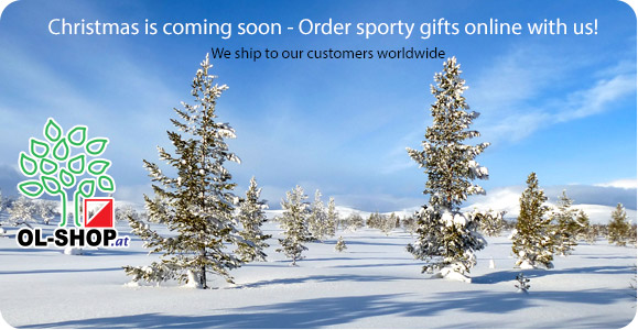 Christmas is coming soon - Order sporty gifts online with us!
