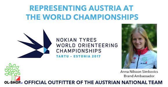 OL-Shop at World Orienteering Championships Estonia