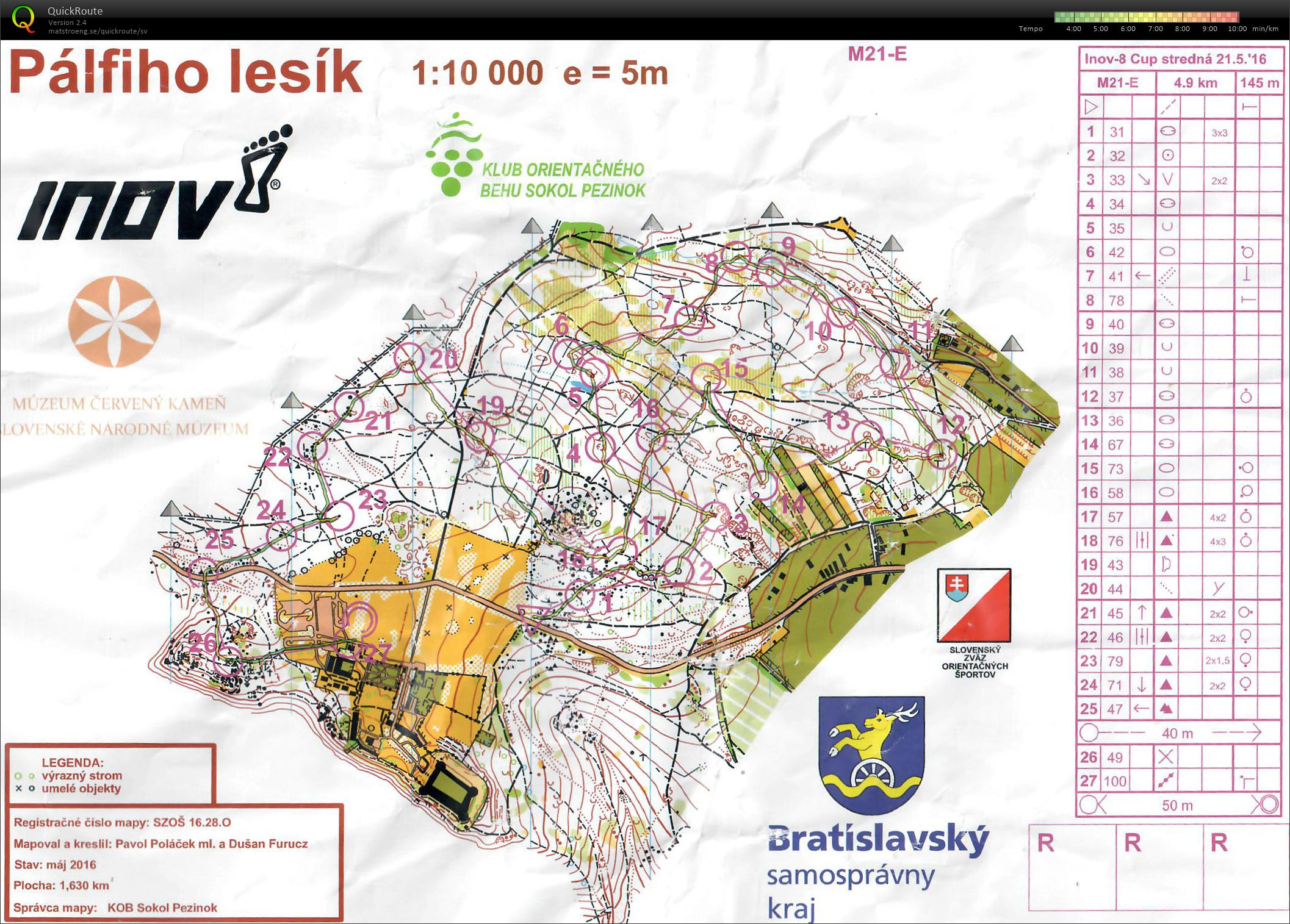 Inov-8 Cup Slovakia Middle (21/05/2016)