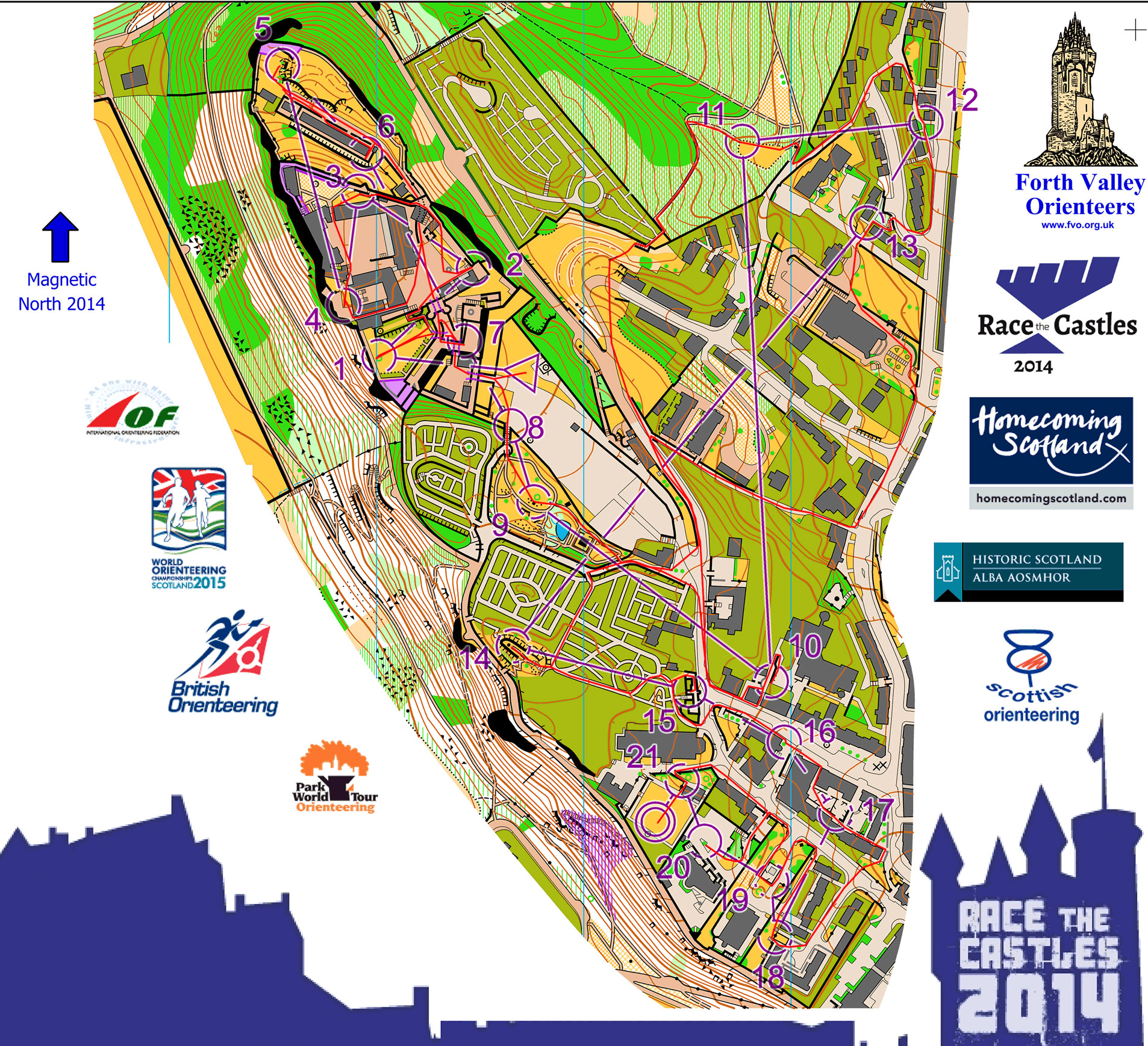Race the Castles Stirling (12/10/2014)