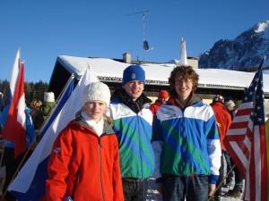 Anna, Erik und Philipp qualifizierten sich für die Ski-EYOC bzw JWOC 2009!