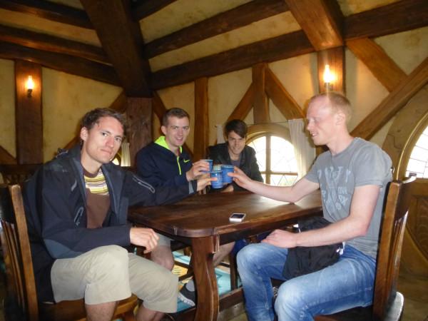 Ginger Beer, The Green Dragon in Hobbiton (Gernot, Erik, Kas, Christian)