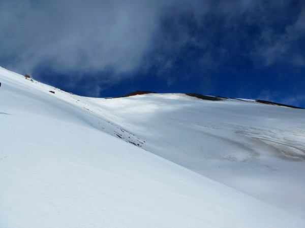 Gletscher am Mount Ruapehu