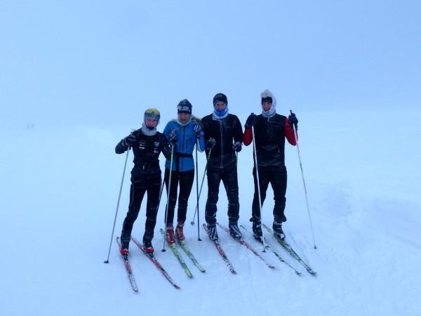 Dachstein Glacier, 8 December.