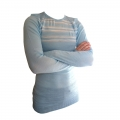 Helly Hansen Base Layer Shirt blau/weiß