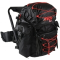 OL-Tech 1640 Sitzrucksack schwarz/rot 40 Liter