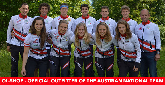 OL-Shop - official outfitter of the Austrian National Team