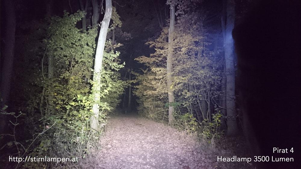 Pirat 4 - Headlamp 3500 Lumen